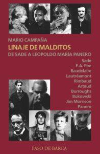 """""""Linaje de malditos"""". Del marqués de Sade a Leopoldo María Panero."""